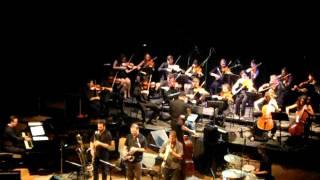 """Daniel """"Pipi"""" Piazzolla: batería Nicolás Guerschberg: piano Mariano..."""