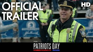PATRIOT'S DAY | Official Trailer | 2017 [HD]