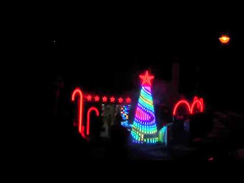 ChristmaS Lights Show Italia- CanCan