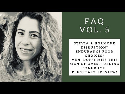 AM Erections/Testosterone, Stop Using Stevia? & BEAUTIFUL Italy