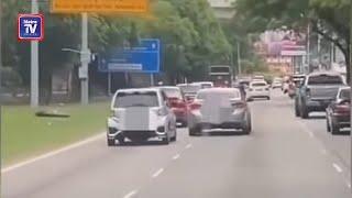 Dua ditahan memandu secara berbahaya