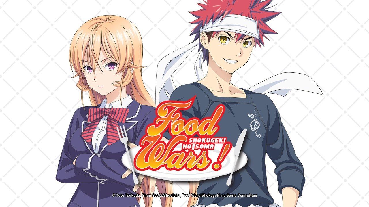 Risultati immagini per food wars anime