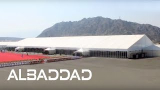 Golden Tent - Marquee - Events - Royal Wedding Tent - Fujairah, UAE - AlBaddad