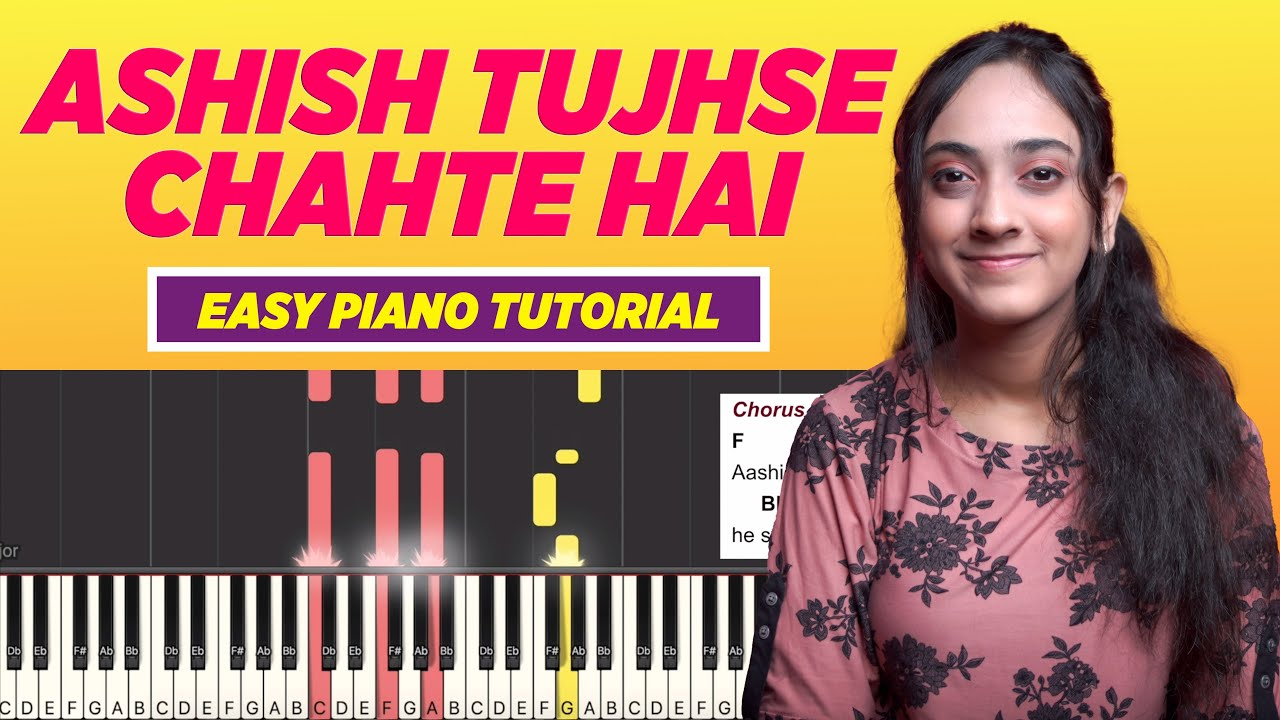 Aashish Tujhse Chahte Hai - Easy Chords and Notes Chart   Yeshu Ke Geet