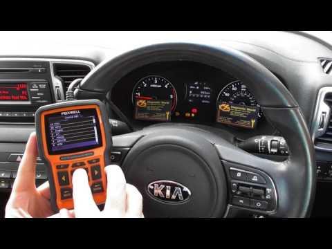 Kia ABS Traction Warning Light Diagnose & Reset NT510