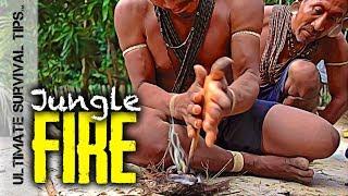 E2: JUNGLE BUSHCRAFT @ Waco Primitive BASECAMP #1 + 7 Jungle Survival Skills