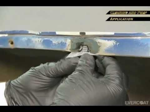 Reparación de pestañas con adhesivo de uretano súper rápido MAXIM™ 886 de Evercoat - spanish