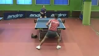Настольный теннис. Тренировка по защите. Часть 2