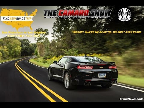 Find New Roads Trip with 2016 Camaro   CamaroShow.com
