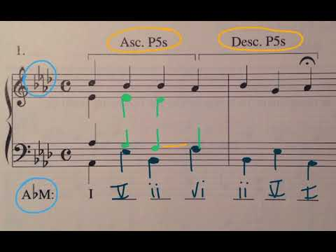 music theory harmonizing a melody chord progression types youtube. Black Bedroom Furniture Sets. Home Design Ideas