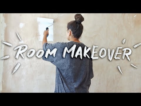 extreme room makeover! (closet transformation) + why I moved!