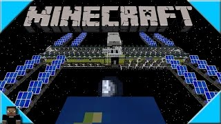 * How to Build a Space Station * Galacticraft 3 Minecraft 1.7.10 Mod Speed Build Time Lapse