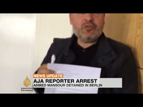 Al Jazeera journalist condemns detention in Germany