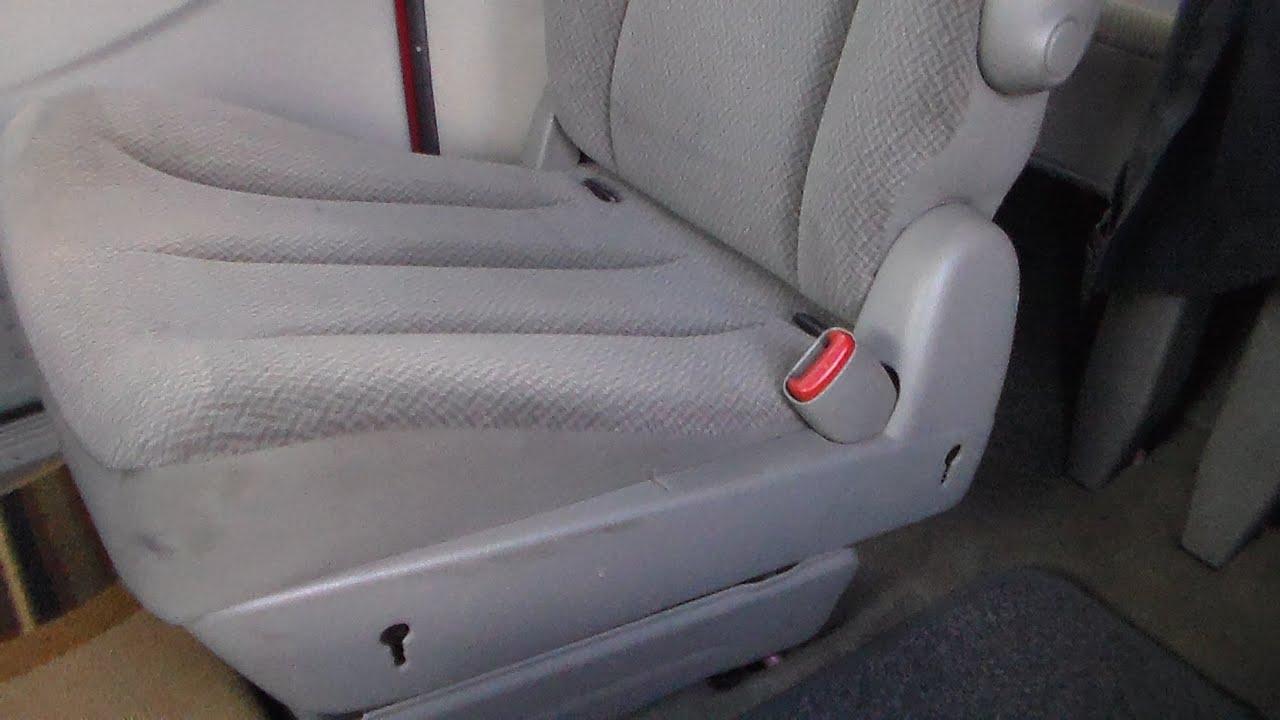 medium resolution of how to unjam rear seats 2005 dodge grand caravan part 1