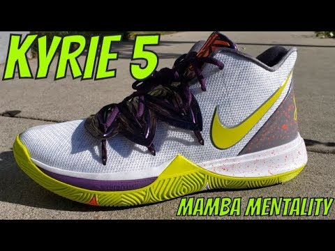 aeac1e17ba25 NIKE KYRIE 5   MAMBA MENTALITY DETAILED SNEAKER REVIEW + ON FEET ...