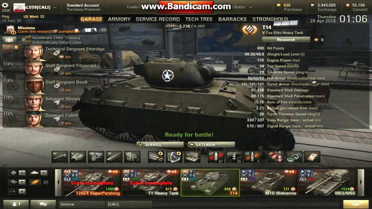 from Sutton world of tanks t14 matchmaking