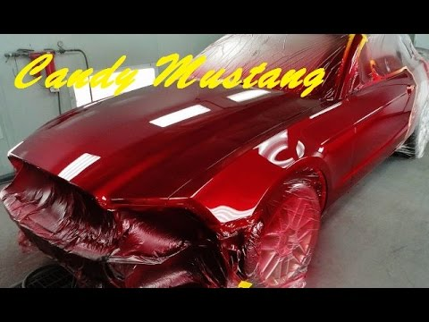 Mustang Red Paint Code