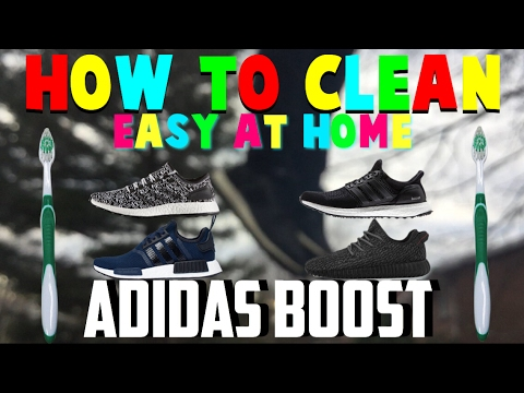 How to clean Adidas boost 2017|Easy Home Version|How to clean boost||Pure Boosts, Ultra Boosts, Nmds