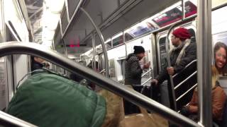NYC MTA | Screaming Crazy Lady