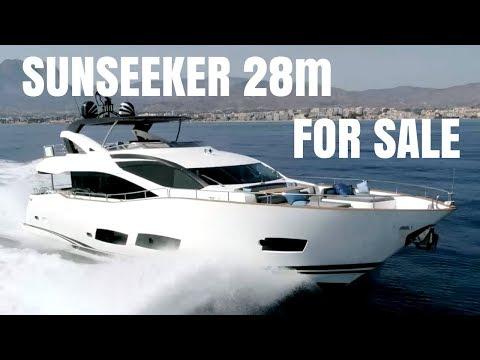 Sunseeker 28m Yacht For Sale - Walk Through Video