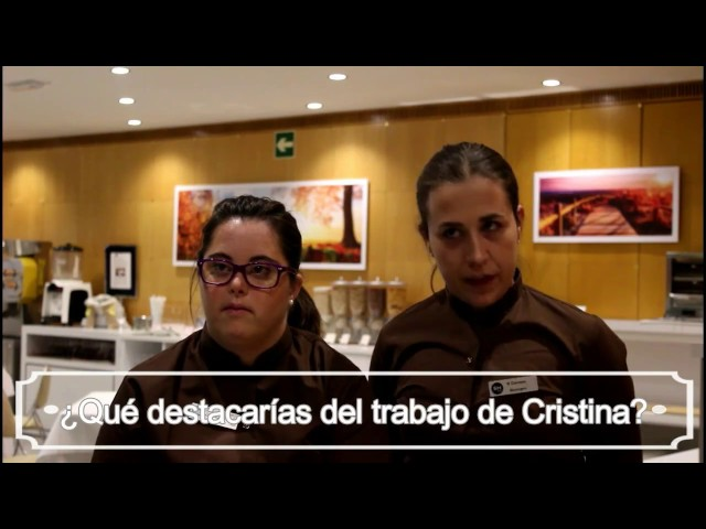 Cristina Moratal, camarera del SH Hotel Valencia
