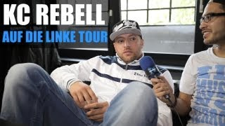 KC REBELL - AUF DIE LINKE TOUR (INTERVIEW) - TV STRASSENSOUND