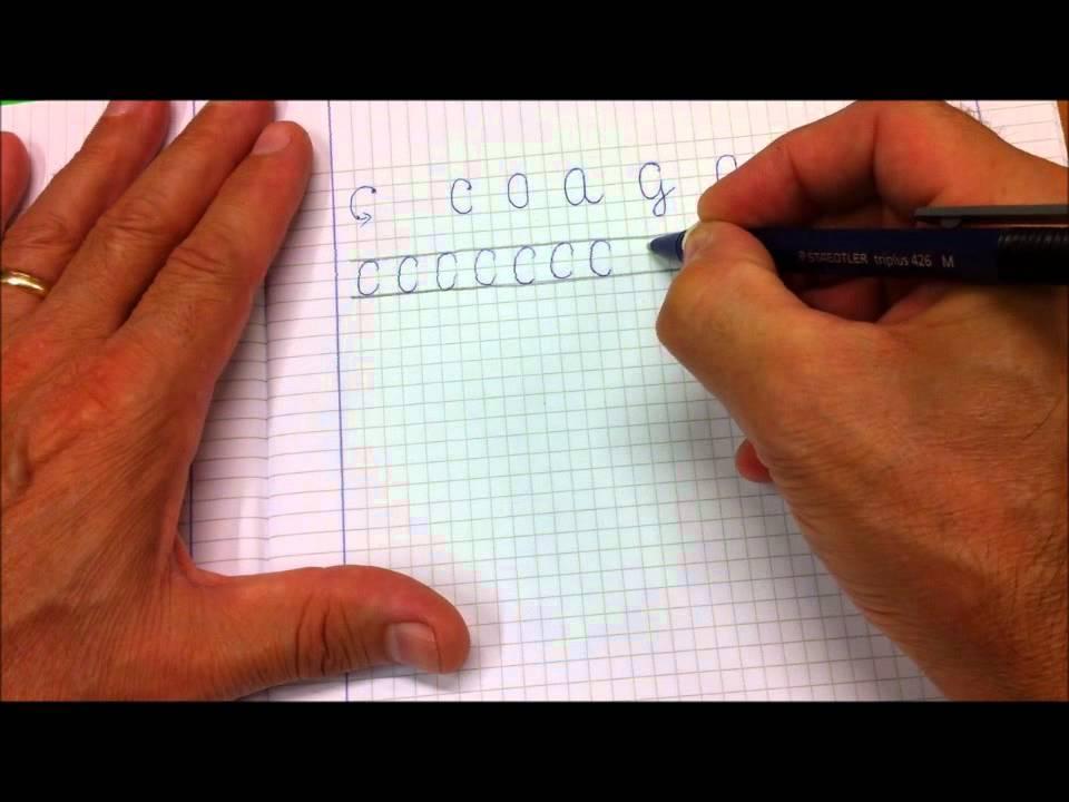 Lettere C O A G Q Come Scrivere In Corsivo Maiuscolo Rispettando