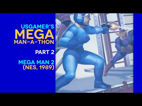 USstreamer: Mega Man-a-thon Pt. 2: Mega Man 2 complete run