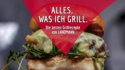 Alles, was ich grill. Butter Cheeseburger vom LANDMANN-Grill.