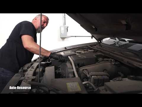 Chevrolet Trailblazer engine oil and filter change