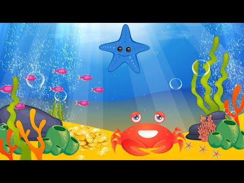 Lullabу And Calming Undersea Animation. Aquarium Lullaby . Baby Sleep Music. Soothing  Fishes
