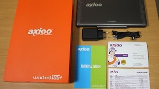 axioo windroid 10g unboxing