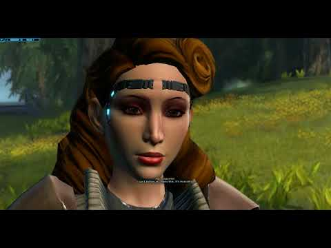 Grateful Arcann and Alliance Commander (Jedi Knight)