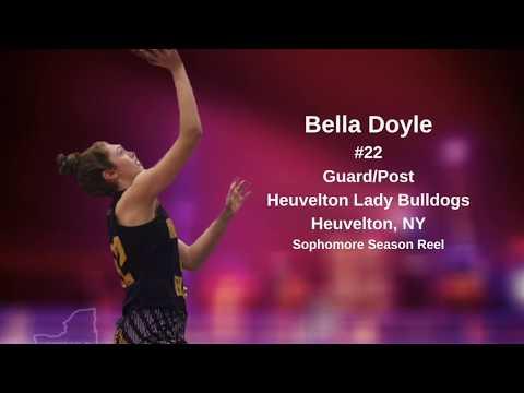 Bella Doyle #22 Guard/Post (Class Of 2022) Heuvelton Lady Bulldogs (Section X)