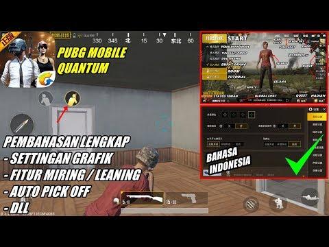 PUBG Mobile Quantum Setting / Pengaturan Grafik, Leaning, Auto Pick, DLL [Bahasa Indonesia]