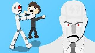 Zombey kontrolliert Killer-Androiden.