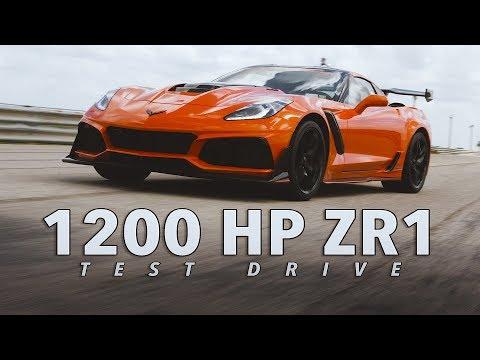 Hennessey HPE1200 Corvette ZR1 Test Drive