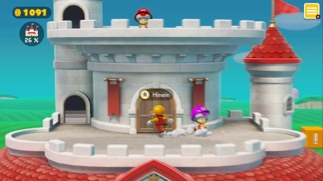 Let\'s Play Super Mario Maker 2 - Part 6 - Stein- und Toadeskort