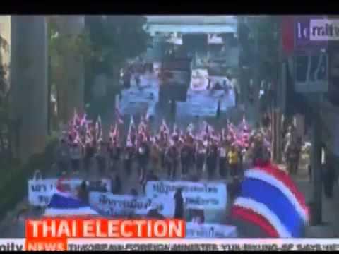 กำนันสุเทพ Thailand Protests Army to deploy more Troops amid warning of poll violence