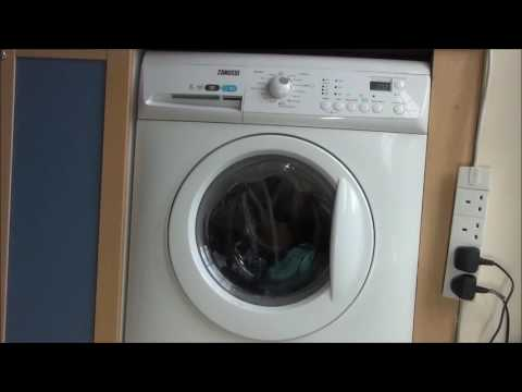 Zanussi Aquafall ZWHB7160 Washing Machine : Cotton rinse hold