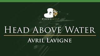 Avril Lavigne - Head Above Water - LOWER Key (Piano Karaoke / Sing Along)