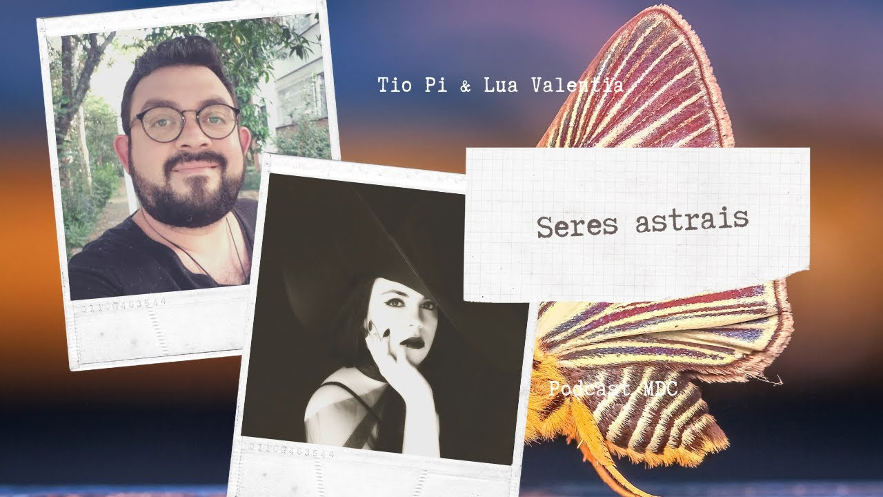 Podcast MDC 4: Tipos de seres espirituais com Tio Pi e Lua Valentia