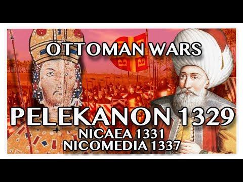 OTTOMAN WARS DOCUMENTARY: Battle of Pelekanon (1329) and Sieges of Nicaea (1331) Nicomedia (1337)
