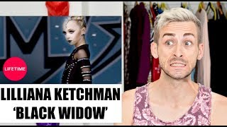 Dance Coach Reacts to LILLY KETCHMAN in BLACK WIDOW (UNAIRED SOLO)