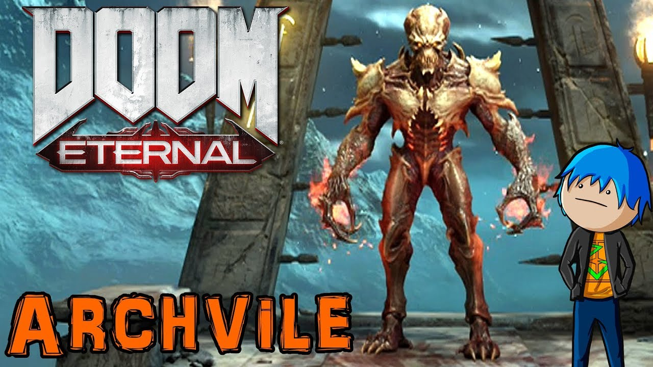 Doom Eternal Battlemode Archvile Gameplay Leaping Fire Demon
