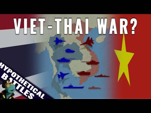A simulated war between Thailand and Vietnam. Who'd win?