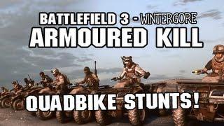 Battlefield 3 Armored Kill: Quad Bike Stunts Cinematic (Chasing the Sun)
