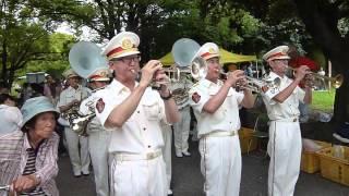 名古屋市消防音楽隊2014夏 in 荒子公園 1