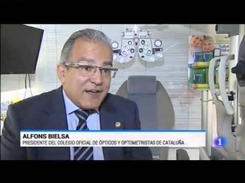 Campanya Visió i Pantalles - Emissió TVE Telediario1