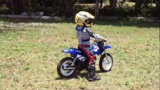 PW50 FAST FREDY ! 5 year old Motorcross kid